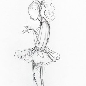 Pretty Ballerina - Detail