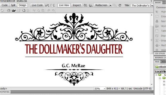 The Dollmaker's Daughter - under happy construction